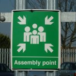 assembley-point-signage
