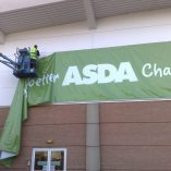 printed-banner-Asda Chatham Banner Installation